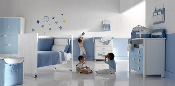 Cómo combinar colores en habitaciones infantiles