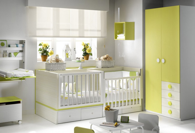 habitaciones infantiles c mo combinar los colores. Black Bedroom Furniture Sets. Home Design Ideas