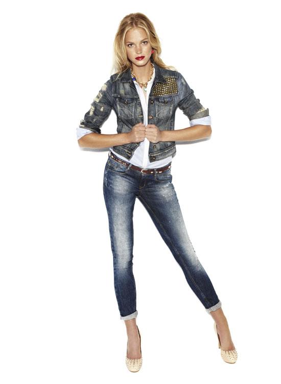 Como combinar jeans