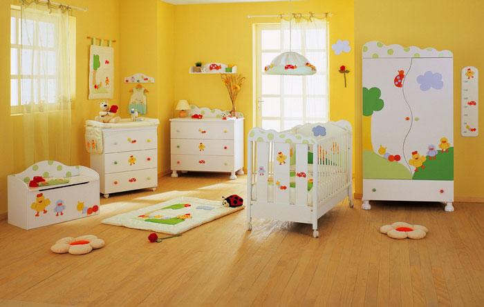 Habitaciones infantiles c mo combinar los colores - Fotos de habitaciones de ninos ...