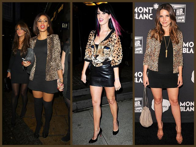 Celebrities Animal Print - Cómo combinar animal print