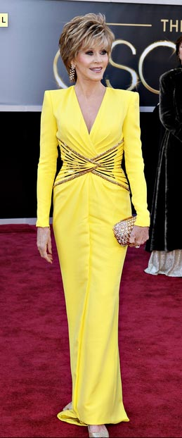 Cómo combinar vestidos de fiesta - Vestido amarillo de noche