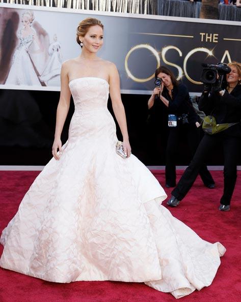Cómo combinar vestidos de fiesta - Vestido blanco de noche