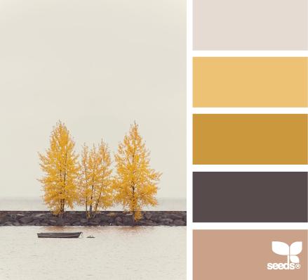 como combinar colores amarillo