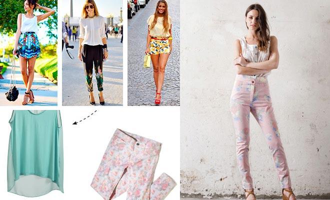 37fc1bbe9 Look floral: cómo combinar la ropa con estampados florales?