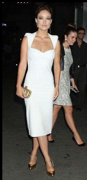 Como combinar un vestido blanco largo fiesta