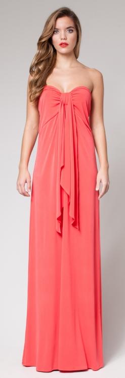 Cómo combinar vestidos de fiesta - Vestido de fiesta coral - Vestido invitada en una boda