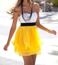como_combinar_falda_amarilla