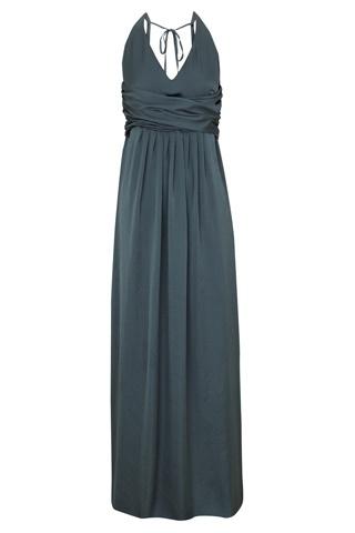 Cómo combinar vestidos de fiesta - Vestido de fiesta gris - Vestido invitada