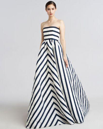 Cómo combinar vestidos de fiesta - Vestido de fiesta rayas - Vestido invitada a una boda