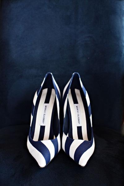 Cómo combinar - Inspiración marinera - Zapatos Manolos