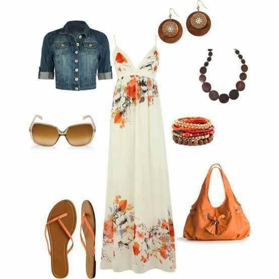 Cómo combinar un look para el verano - Look floral
