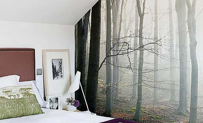 C mo decorar paredes de forma original - Como pintar paredes interiores ...