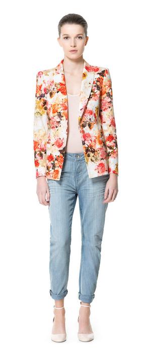 Blazer Zara - Cómo combinar ropa