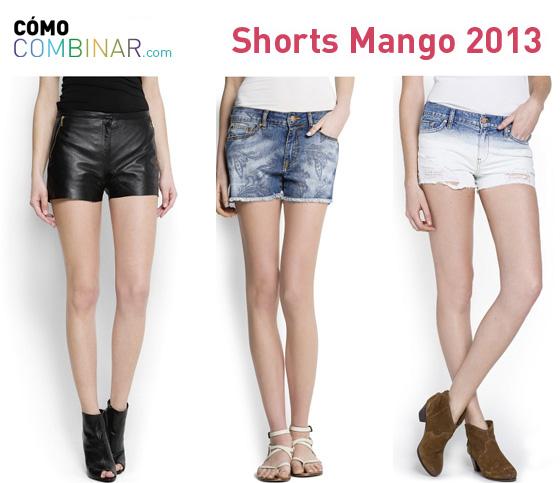 Cómo Combinar shorts - Mango 2013