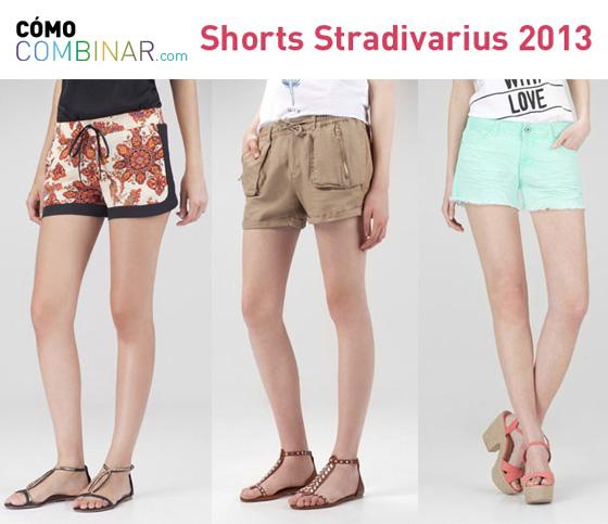 Cómo Combinar shorts - Stradivarius 2013