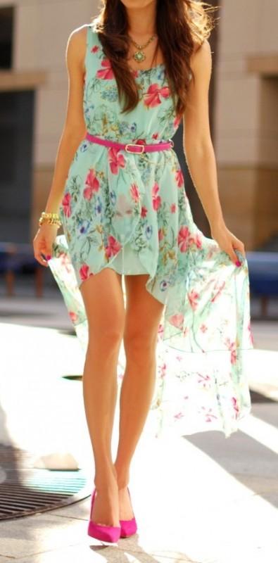 Como combinar vestido asimetrico de fiesta