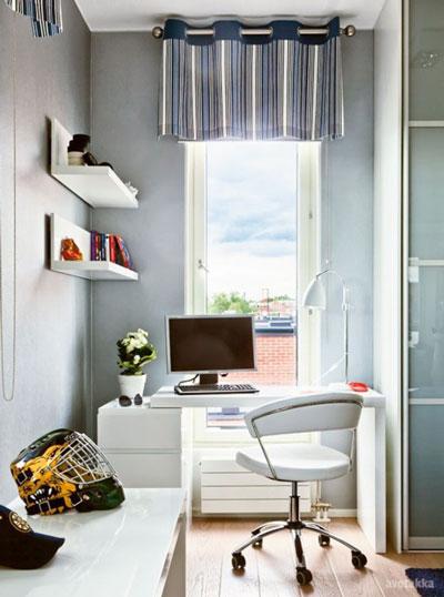 Cómo combinar - Decoración interior - Oficina en casa