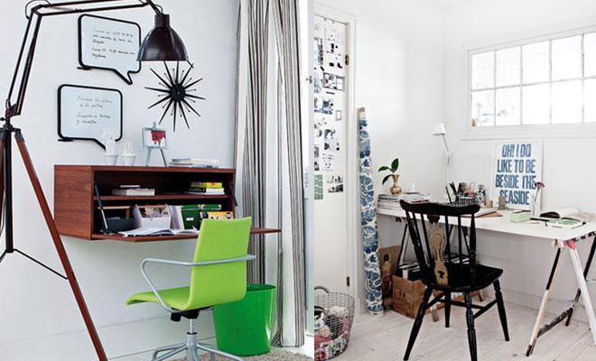 Oficina en casa trabajar desde casa en un buen ambiente for Decoracion oficina en casa