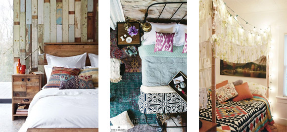 Cómo Combinar - Diseño interior - Dormitorios Bohemios