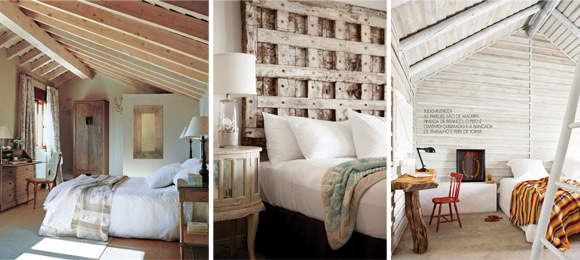 Cómo Combinar - Diseño interior - Dormitorios Rústicos