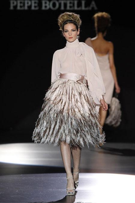 Cómo Combinar plumas: tendencia otoño 2013