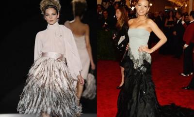 Cómo Combinar ropa con plumas - Tendencia Otoño 2013