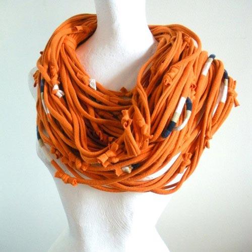Cómo Combinar ropa naranja: accesorios