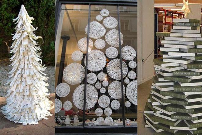 Rboles de navidad originales for Como hacer un arbol de navidad original