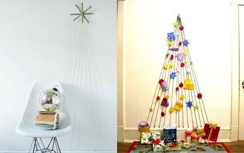 Rboles de navidad originales - Como hacer una felicitacion de navidad original ...