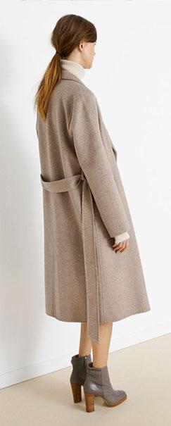 Cómo combinar abrigo XXL - tendencias 2013