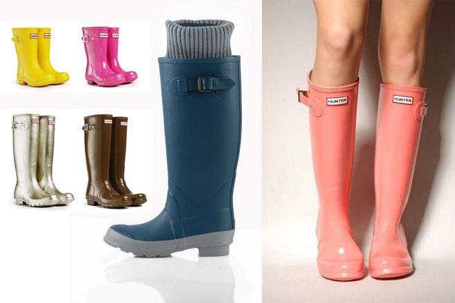Cómo Combinar botas de agua de colores