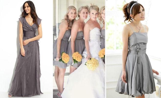 Cómo Combinar - Color gris en bodas