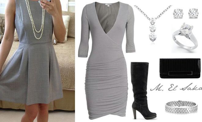 Cómo Combinar - Color gris elegante