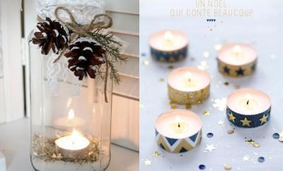 Decoración de Navidad - Velas