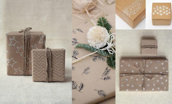 Como envolver regalos de forma original - Dibujos
