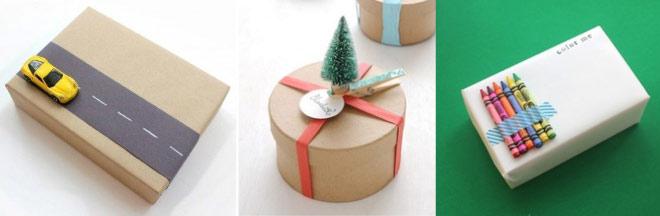 Como envolver regalos de forma original - Niños