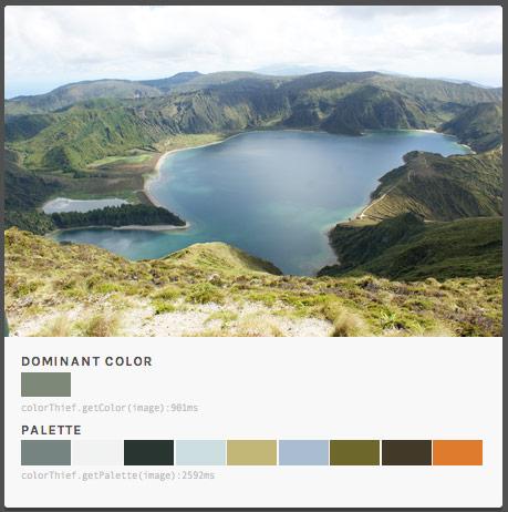 Colores fotografía Azores