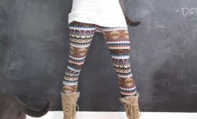 Cómo combinar leggins