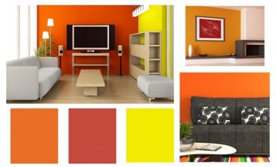 C mo combinar colores en tu sal n for Colores de moda para exteriores