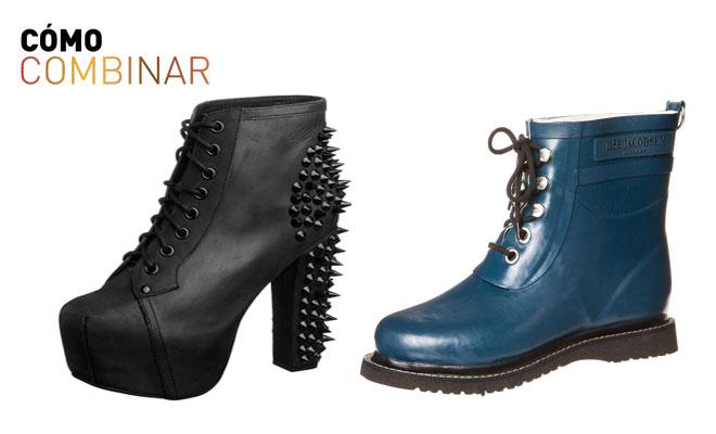 Cómo combinar zapatos