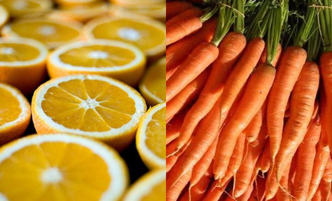 combinar frutas