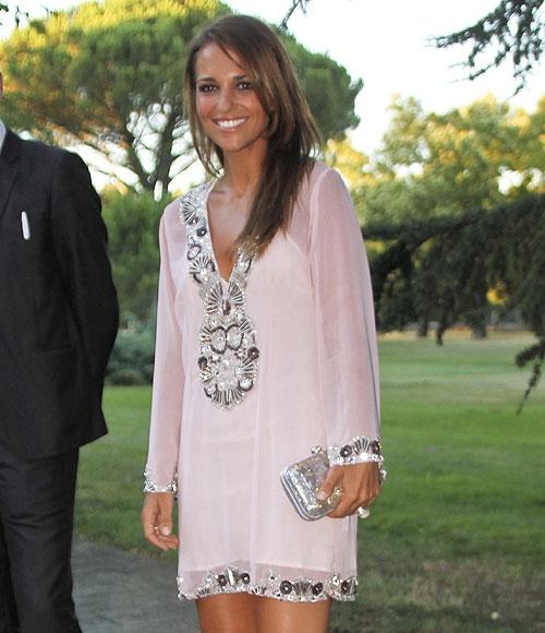 Look Paula Echevarría - Vestido Blanco elegante