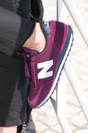 zapatillas new balance mujer vestir
