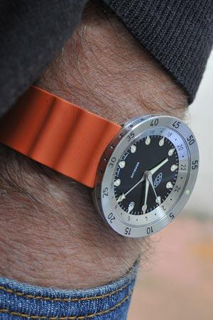Cómo combinar correas de reloj