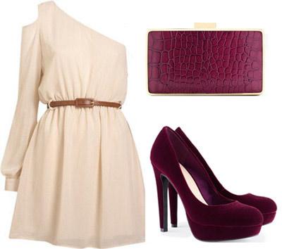 C mo combinar zapatos burdeos - Colores que combinan con beige ...
