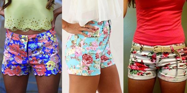 Cómo combinar shorts