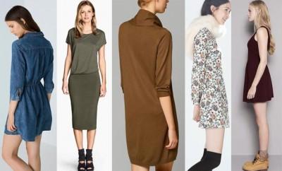 vestidos otoño 2014