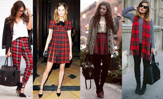 El estampado con cuadros scottish est de moda - Q esta de moda en ropa ...