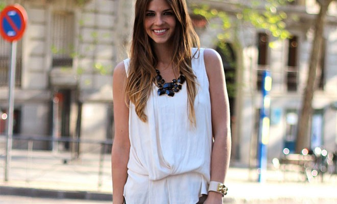 Street style - Blanco y gris